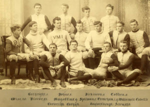 VMI's first intercollegiate team, 1891